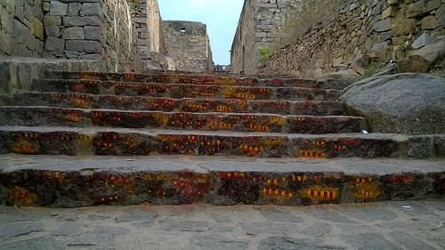 Stairs at Golconda Fort | by IndianTinker