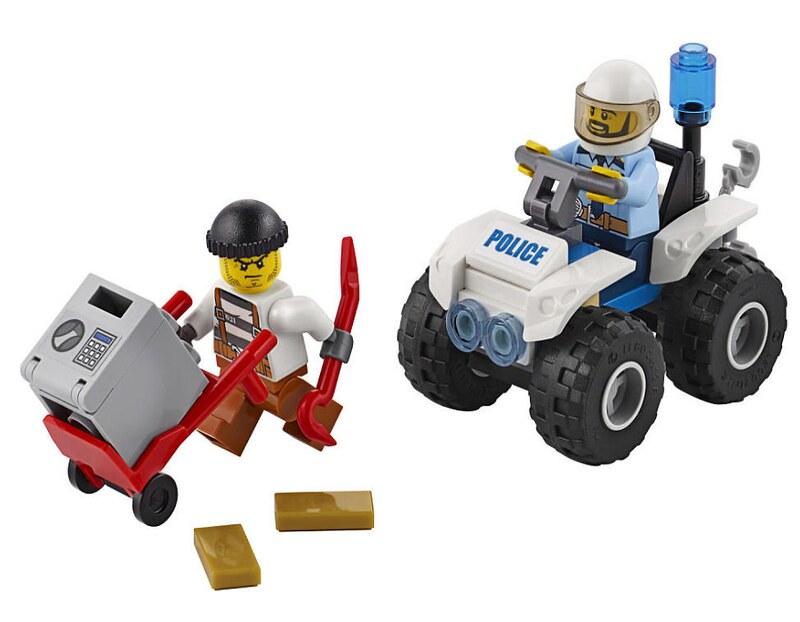 LEGO City 2017 - ATV Arrest (60135)
