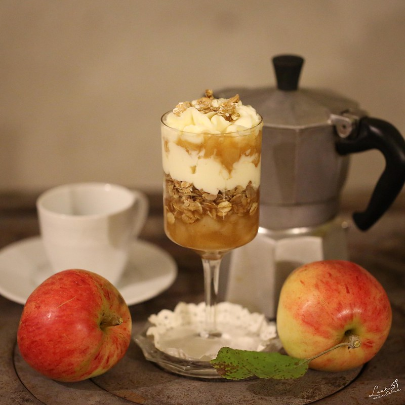 Ābolu - Maskarpones saldais