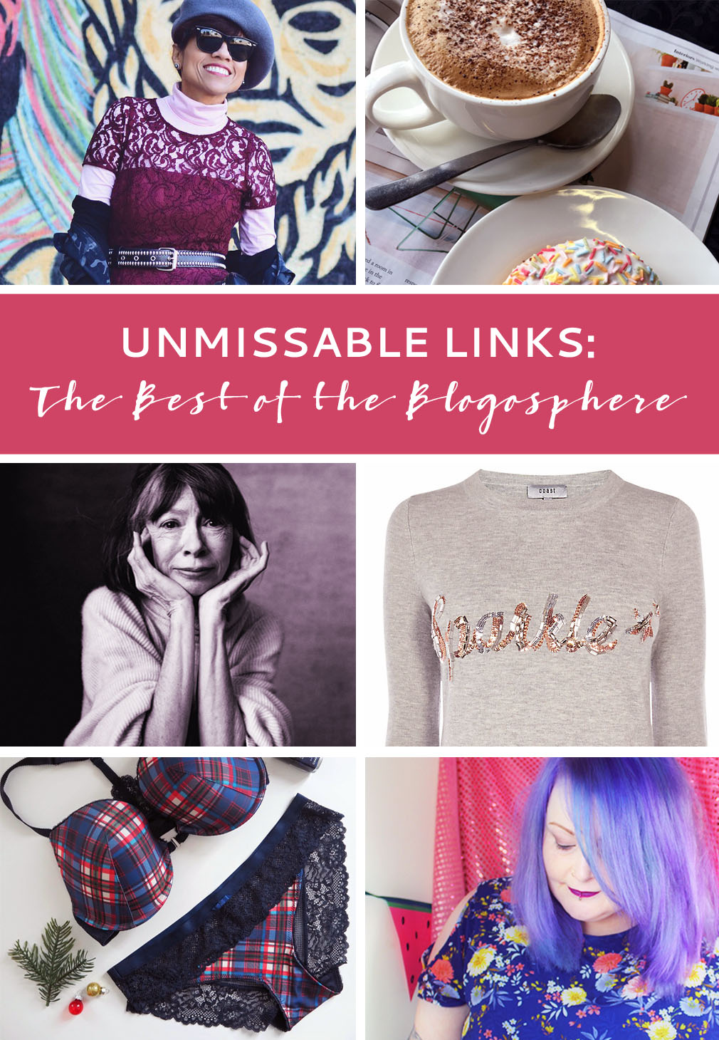 The Best of the Blogosphere November 2016: Restyling wedding dresses - Menopause signs - hearing aids - Christmas sweaters - short hair for older women - and more! | Not Dressed As Lamb