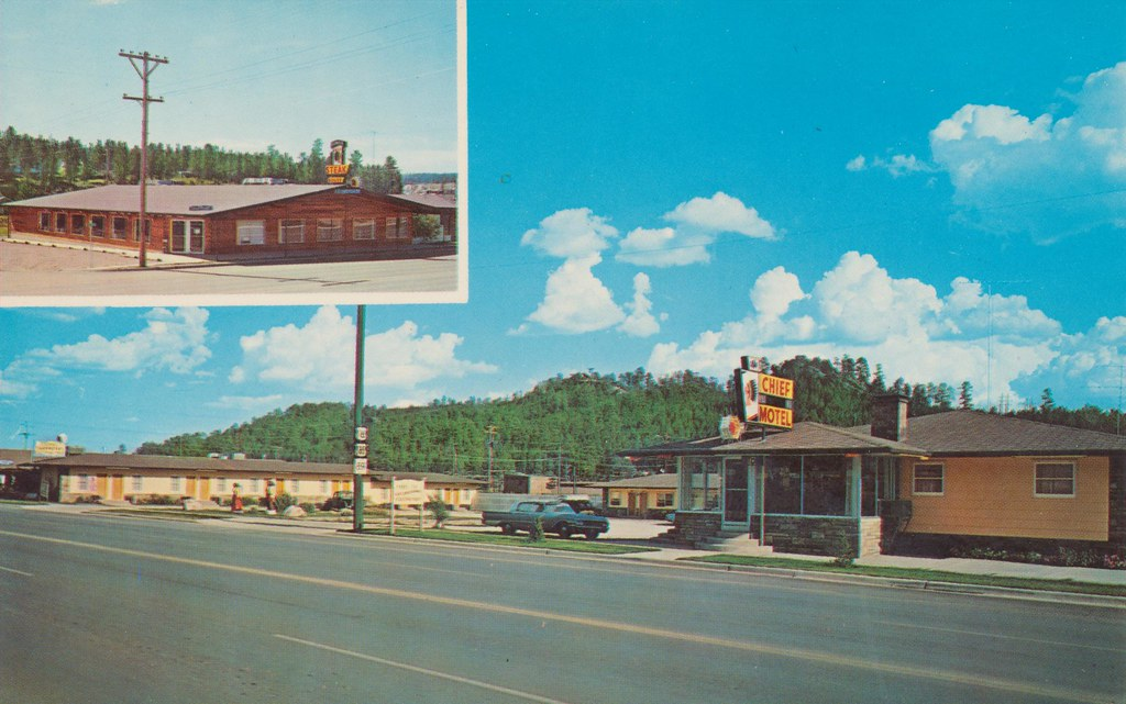 Chief Motel & Steak House - Custer, South Dakota