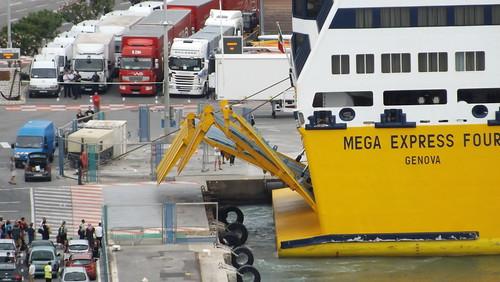 Ms mega express four corsica sardinia ferries port de for Mega express 2 piscine