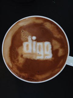 Today's latte, digg. | by yukop