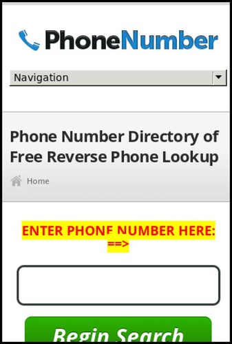 National Cellular Directory - Reverse Phone Lookup