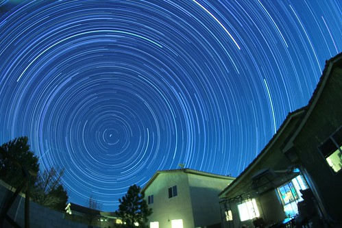 Quadrantid Startrail 01-04-14 | by CaptDanger