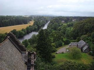 023 Uitzicht bij Doune Castle