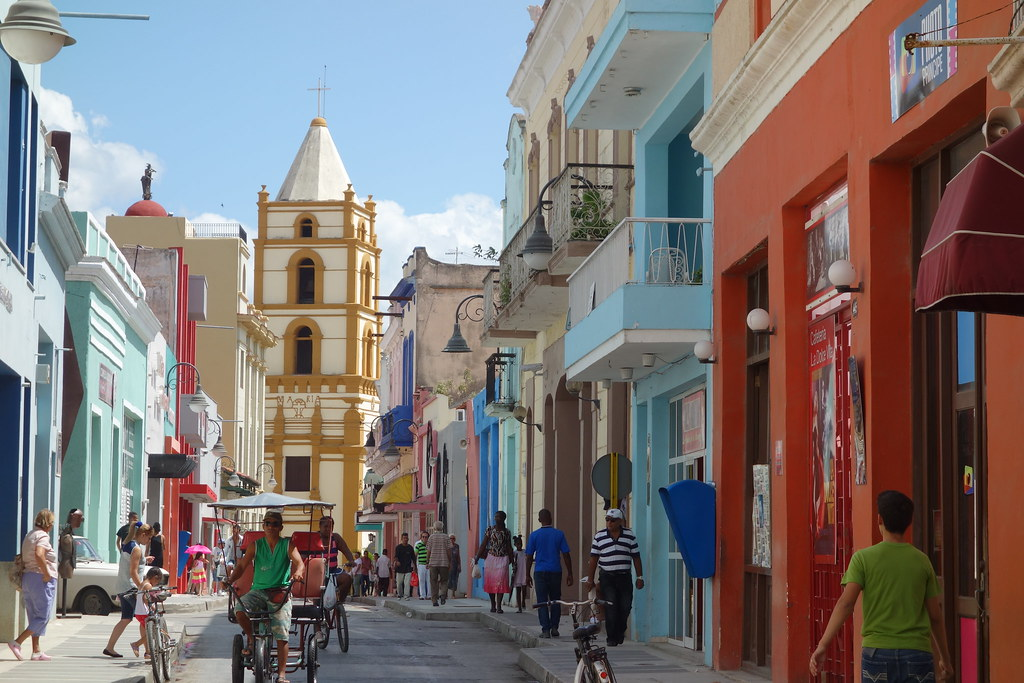 Camaguey (Cuba) : La rue des cinémas