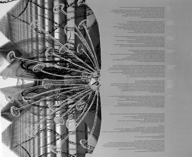 "THE END OF SIX THOUSAND YEARS - I§OLATION LYRICS INSERT 12"" LP"