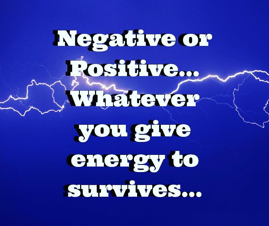 Negative & Positive Energy