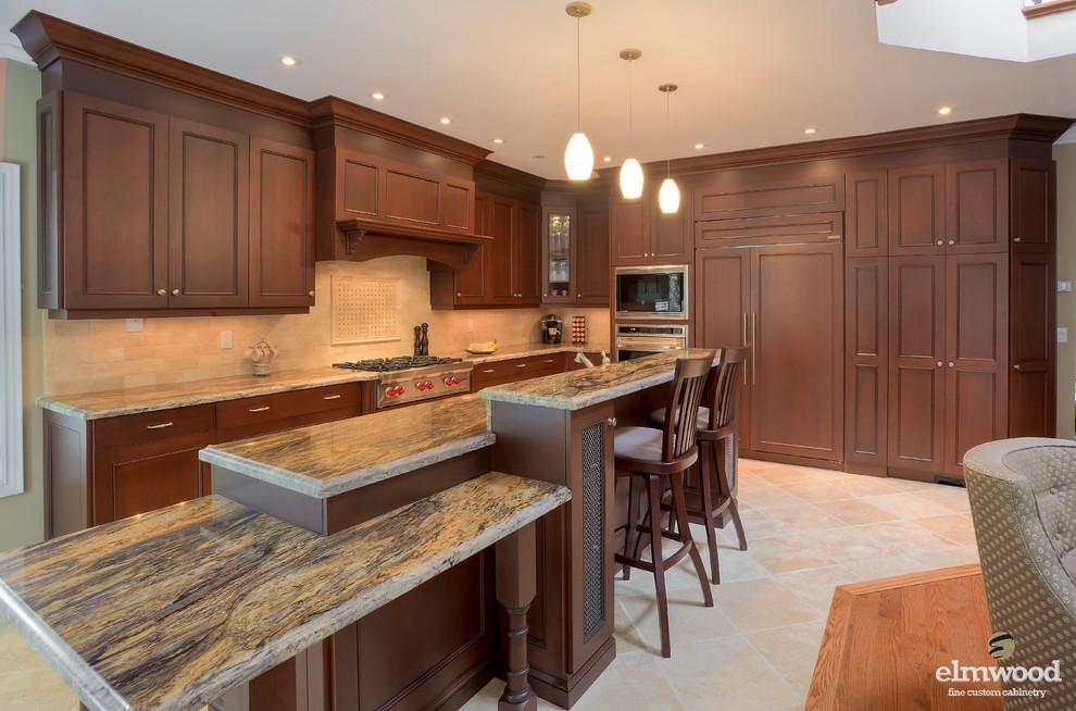 Multi Level Kitchen Island Interior Design