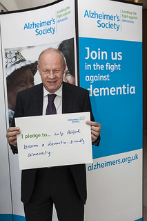 Alzheimer's Society dementia fight campaign 10.09.13 | by Damian Green MP
