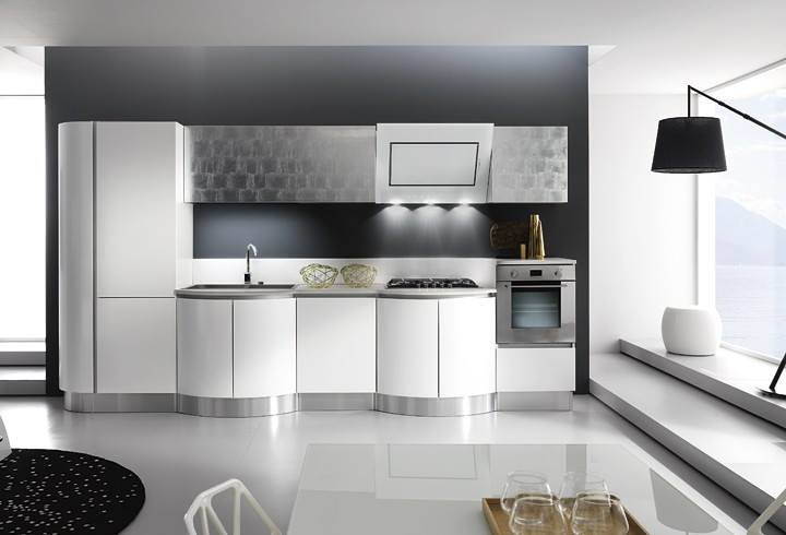 Cucine laccate napoli   Cucina componibile bombata Kreativa   Flickr