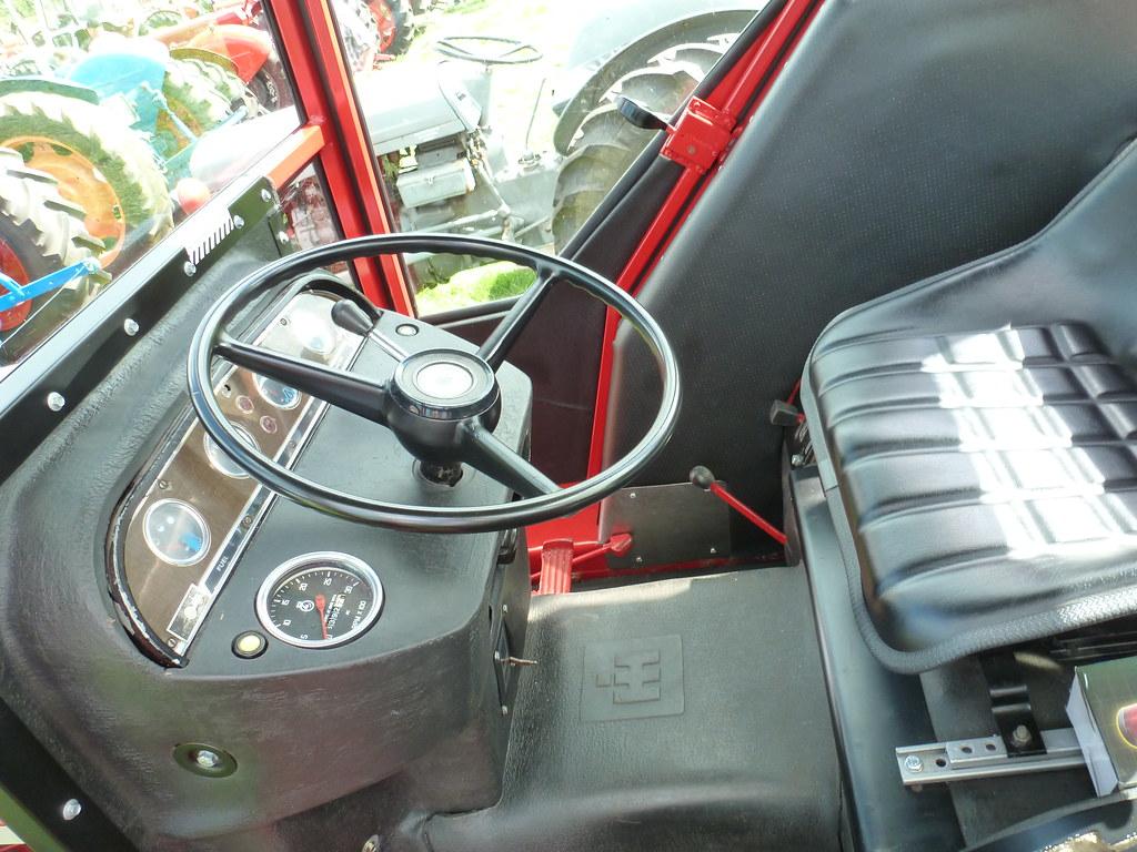 ... International Harvester 674 cab interior | by K Garrett