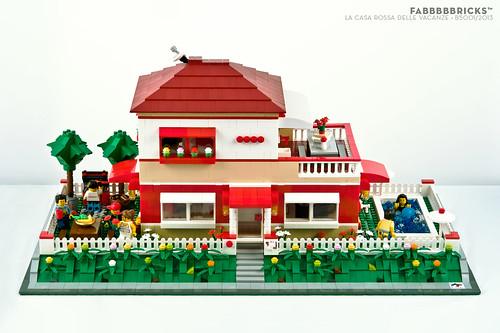 B5001 la casa rossa delle vacanze main b5001 la - La casa delle vacanze ...