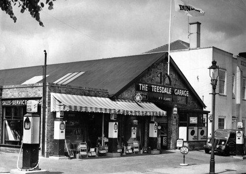 The Teesdale Garage, Hucknall Road, Nottingham | A 1950's ...