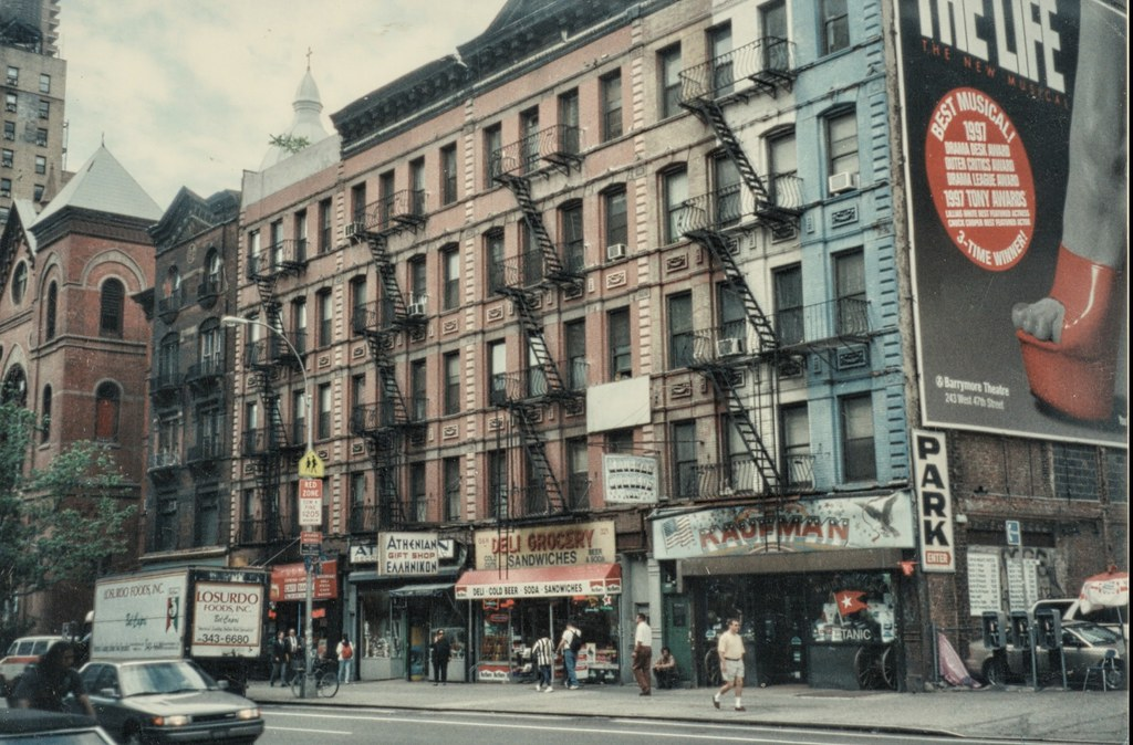 new york city ny 42nd st old 35 mm film hells kitchen - Hells Kitchen Ny