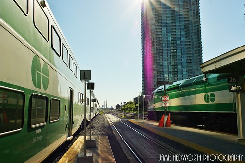 GO Train Vanishing Point