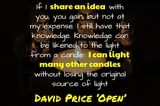 I can light many candles without losing the orginal source @davidpriceobe | by mrkrndvs