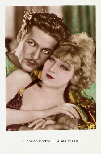 Greta Nissen and Charles Farrell in Fazil (1928)