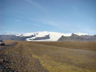 007 Tussenstop met uitzicht op de Öræfajökull