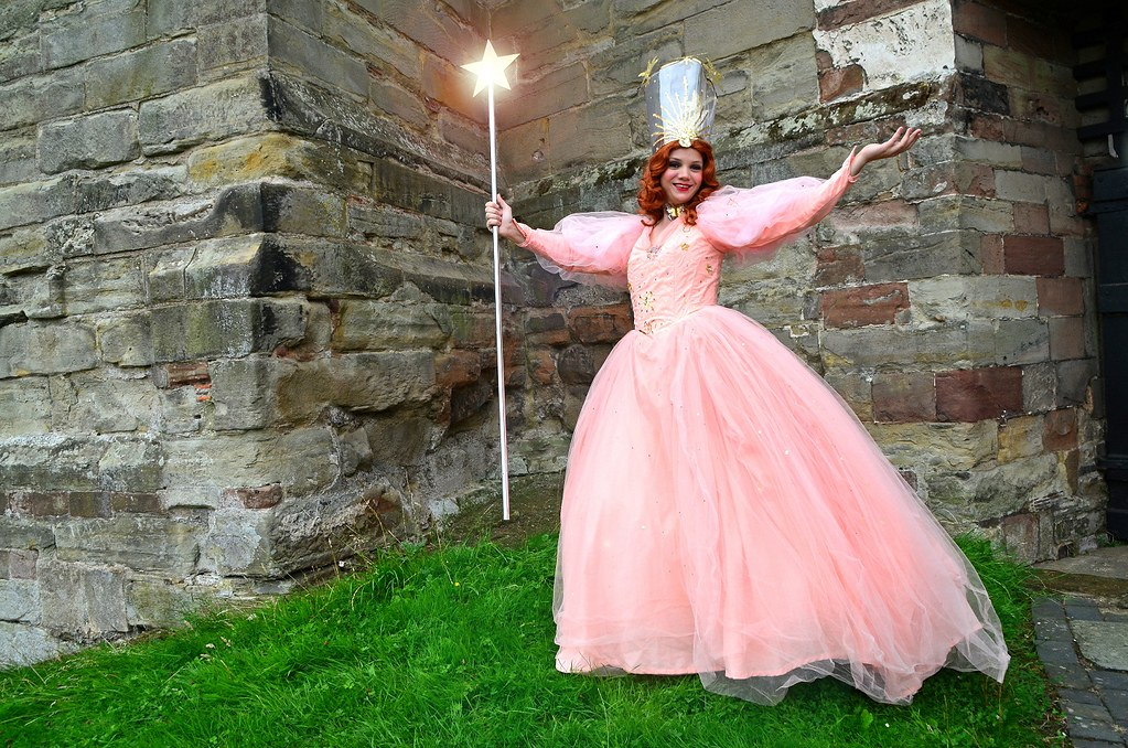 glinda the good witch of the north at tutbury castle flickr