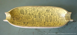 Wooden Doodle Bowl, 2013 | by Flora Chang | Happy Doodle Land