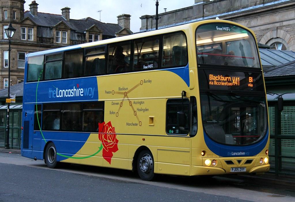 By Gobbiner Transdev Lancashire United 2752 Pj05zvy In Accrington Bus Station By Gobbiner