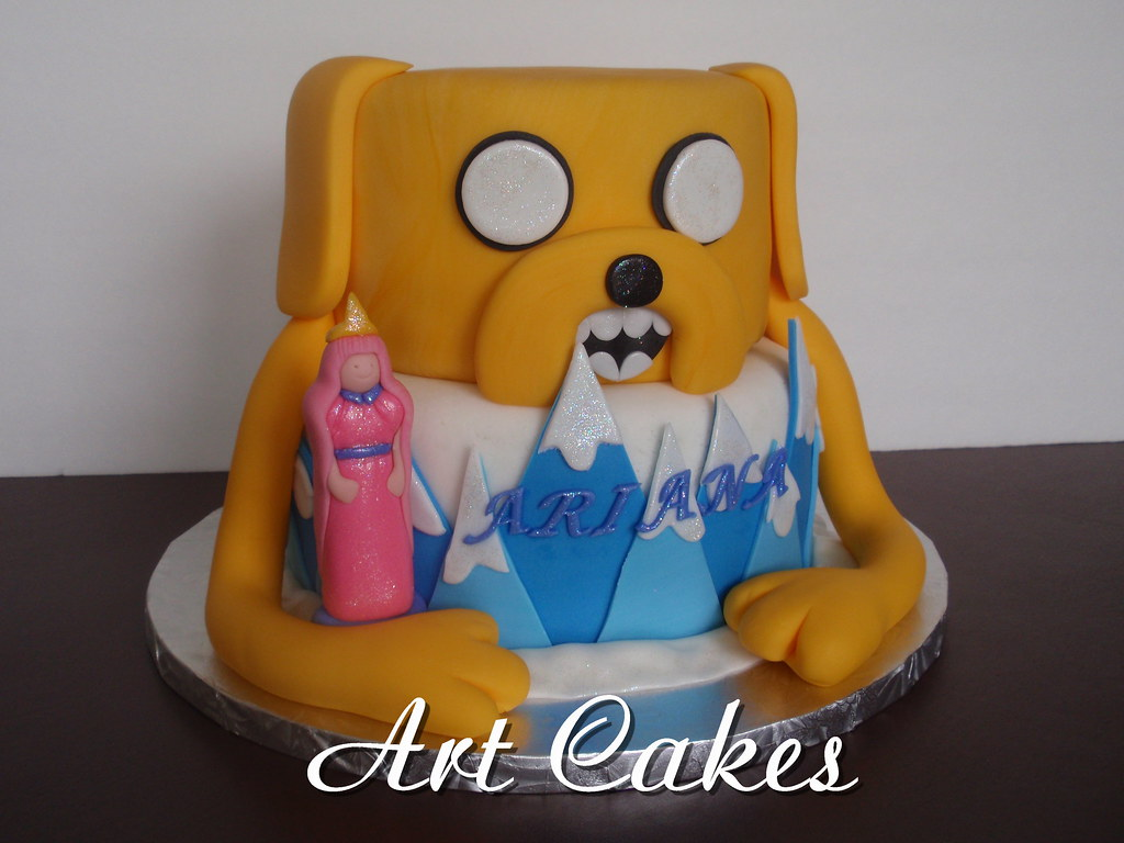 Adventure Time Birthday Cake Nora Rexach Flickr