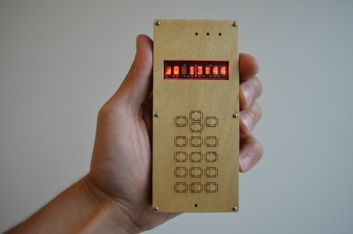 DIY cellphone (in hand) | by dam