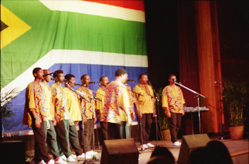 Ladysmith Black Mambazo from South Africa with Joseph Shabalala in Philadelphia Jan 1997 013 | by photographer695