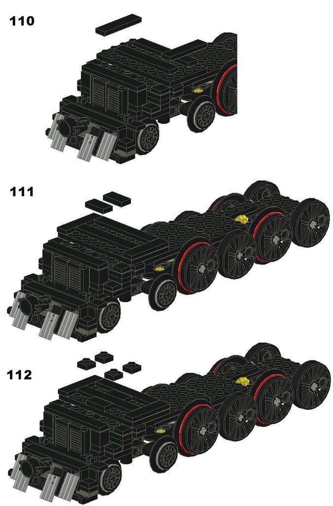 Lego Union Pacific Big Boy Instructions Moc Inspired By Ja Flickr