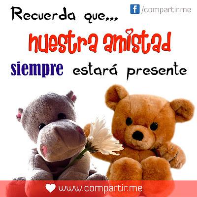 Frases De Amor Postal Bonita De Amistad Con Tiernos Peluc Flickr