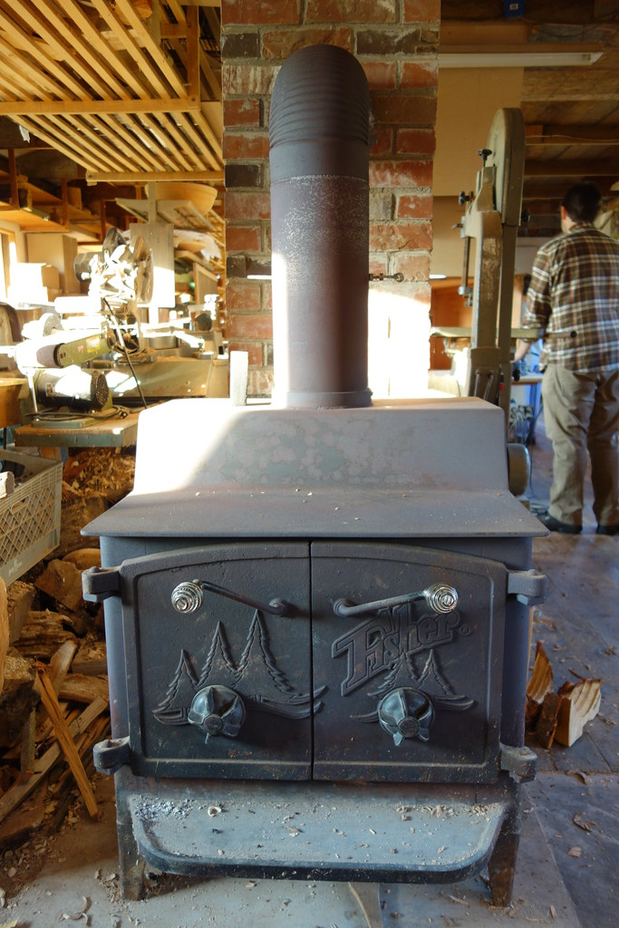 ... Fisher Woodstove | by Heath & the B.L.T. boys - Fisher Woodstove Vernon & Karen Leibrant We Make Turned Wo… Flickr