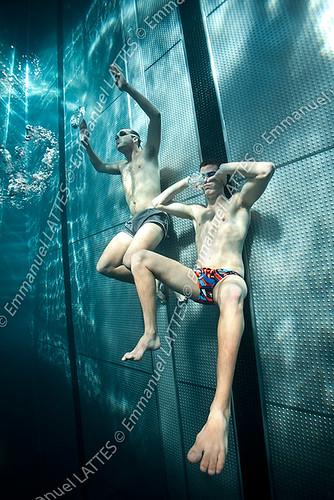 Nageurs pratiquant l 39 apn e en piscine bellerive sur allie for Bellerive sur allier piscine
