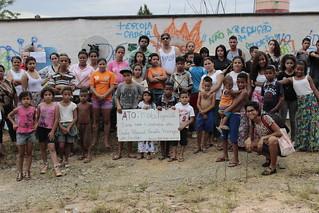 Marcha de um ano do incêndio da E.E. Renata Menezes