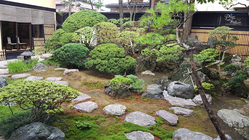 Dining Inaho Semboku City Akita garden