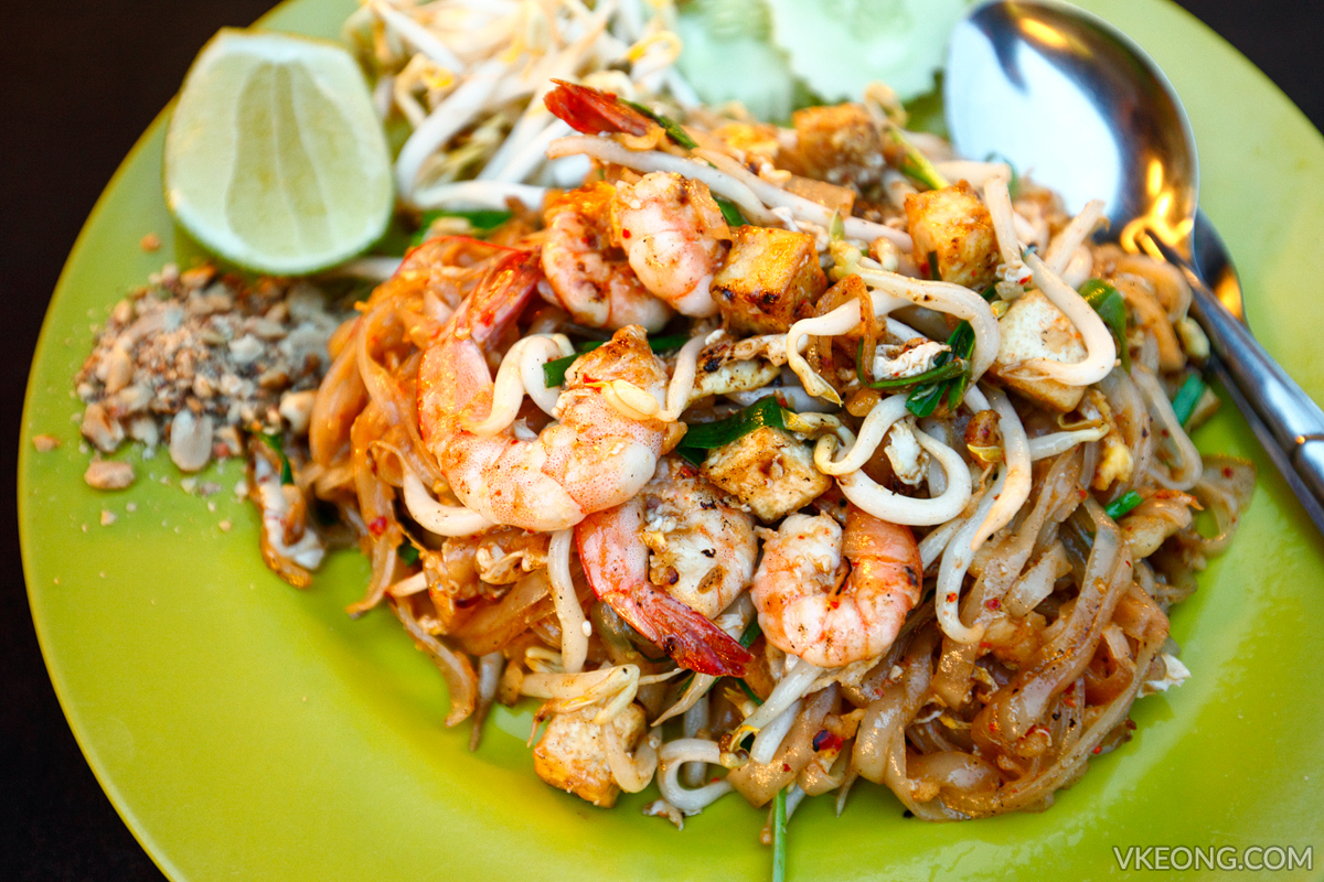 Thai Taste Pad Thai Kepong Food Court
