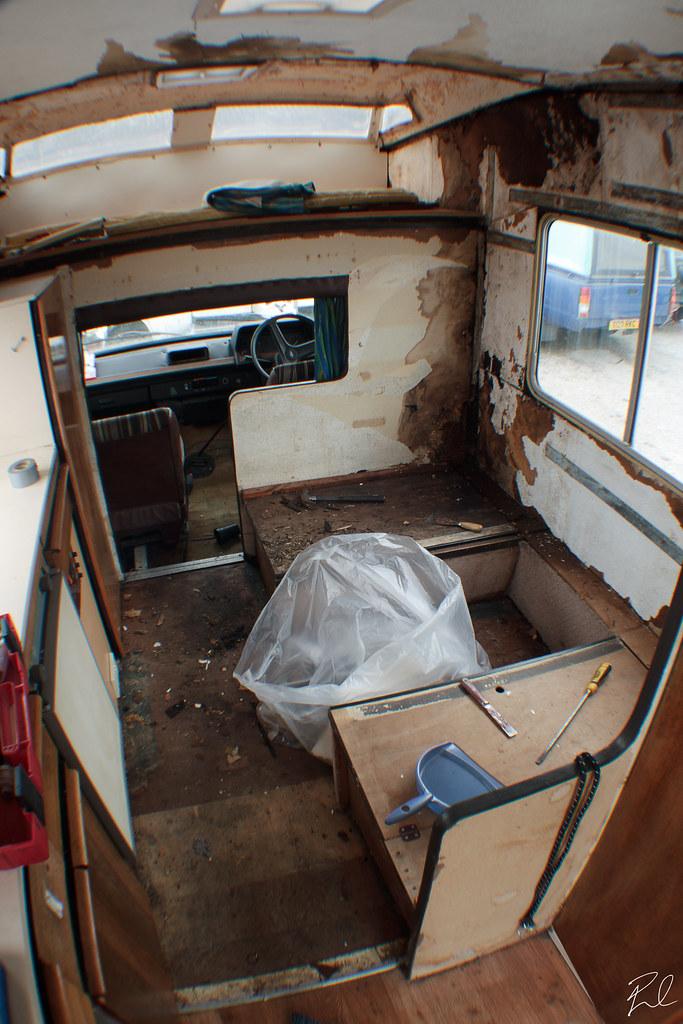 Ford Transit Mk2 Ci Motorhome Restoration Flickr