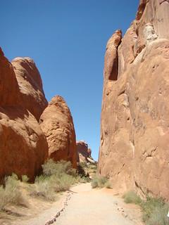 60 Trail naar Landscape arch