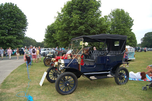 Newby Hall Historic Car Rally 2013 | by Draco2008
