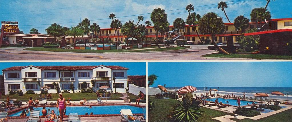 Casa Linda Motel & Sahara Motel - Daytona Beach, Florida