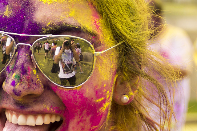 Colours Run at Racecourse