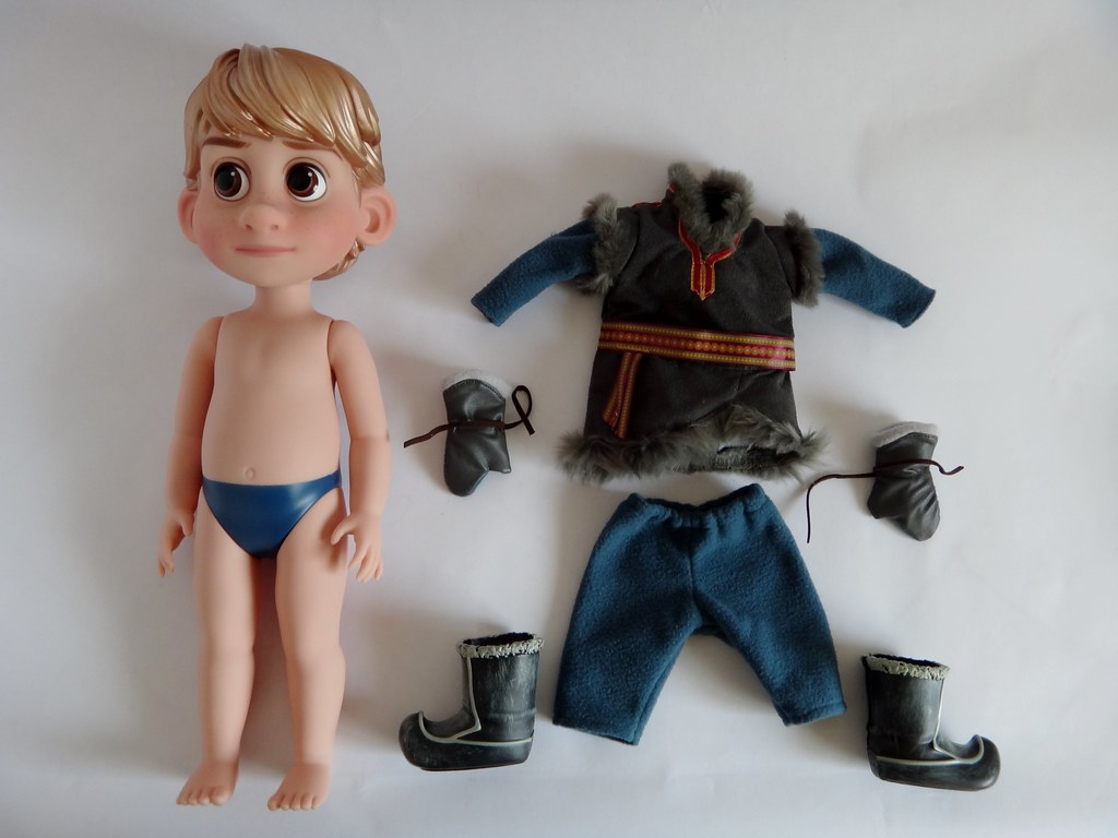 Kết quả hình ảnh cho Disney Animators' Collection Kristoff Doll - Frozen - 16