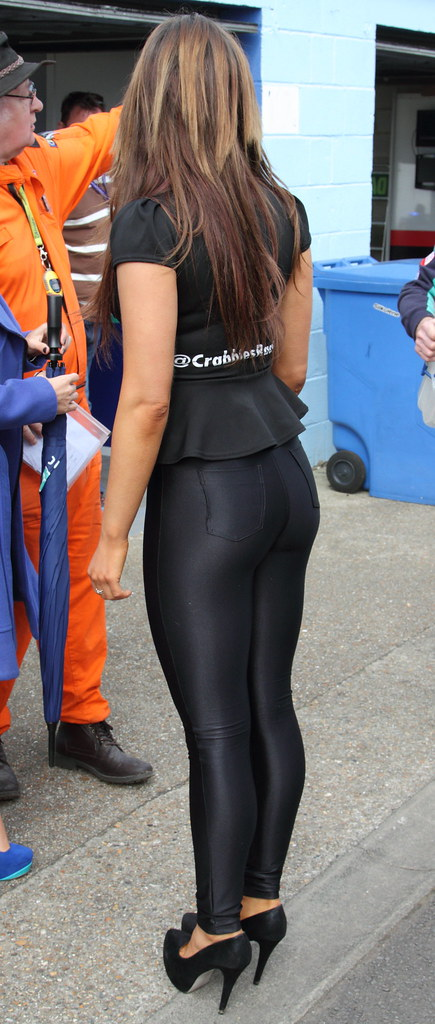 Tight shiny spandex girls right! think