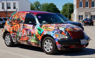 Route 66 PT Cruiser - Designed by Artist Brian Gregory | by RoadTripMemories