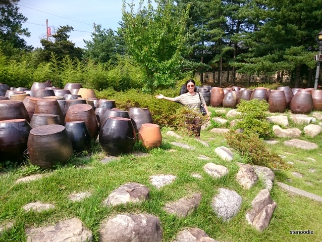Pots at hanok