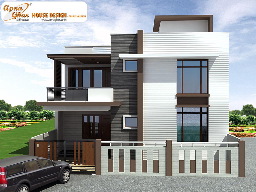 Duplex House Design | By ApnaGharhd Duplex House Design | By ApnaGharhd