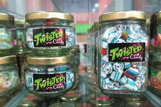 Jars of candy at Twisted Candy | by karlaredor