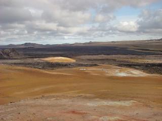 042 Uitzicht vanuit lavaveld Leirhnjúkur