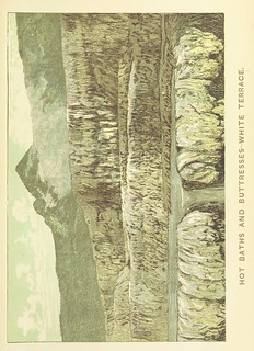 Image taken from page 19 of 'A Weird Region. New Zealand lakes, terraces, geysers and volcanoes. [Illustrated.]' | by The British Library